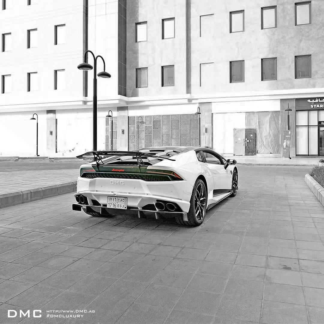 DMC LP610 Huracan Stage3 Carbon Fiber Body Kit: Carbon Fiber Front Lip, Carbon Fiber Side Skirts, Carbon Fiber Rear Diffuser, Carbon Fiber Rear Wing, Carbon Fiber Rear Spoiler, LP610 Lamborghini