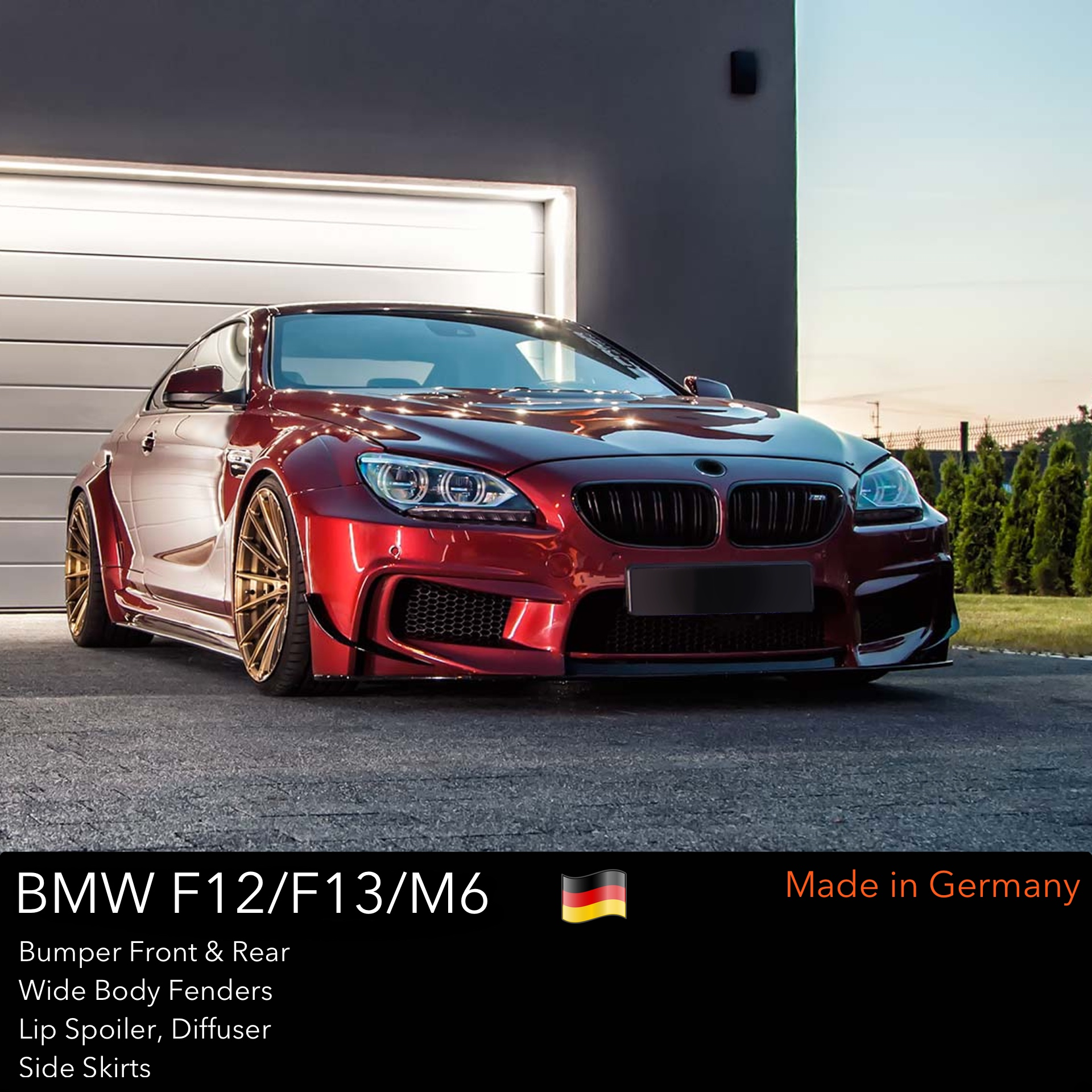 DMC F12 F13 M6 Wide Body: Carbon Fiber Body Kit for the BMW