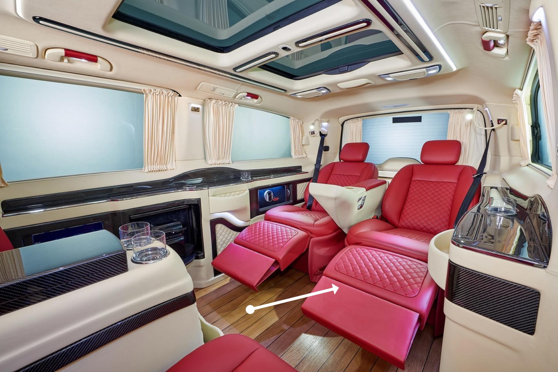 DMC Luxury Interior: Carbon Fiber Body Kit for the Mercedes Van V-Class
