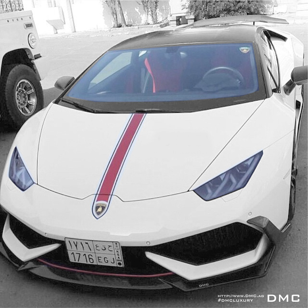 DMC LP610 Huracan Stage3 Carbon Fiber Body Kit: Carbon Fiber Front Lip, Carbon Fiber Side Skirts, Carbon Fiber Rear Diffuser, Carbon Fiber Rear Wing, Carbon Fiber Rear Spoiler, LP610 Lamborghini