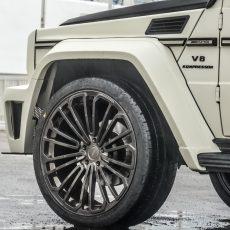 DMC Mercedes Benz G Class G65 Carbon Fiber Wide Body Kit