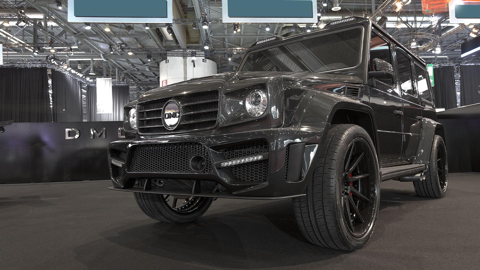 The 2016 DMC Mercedes G63