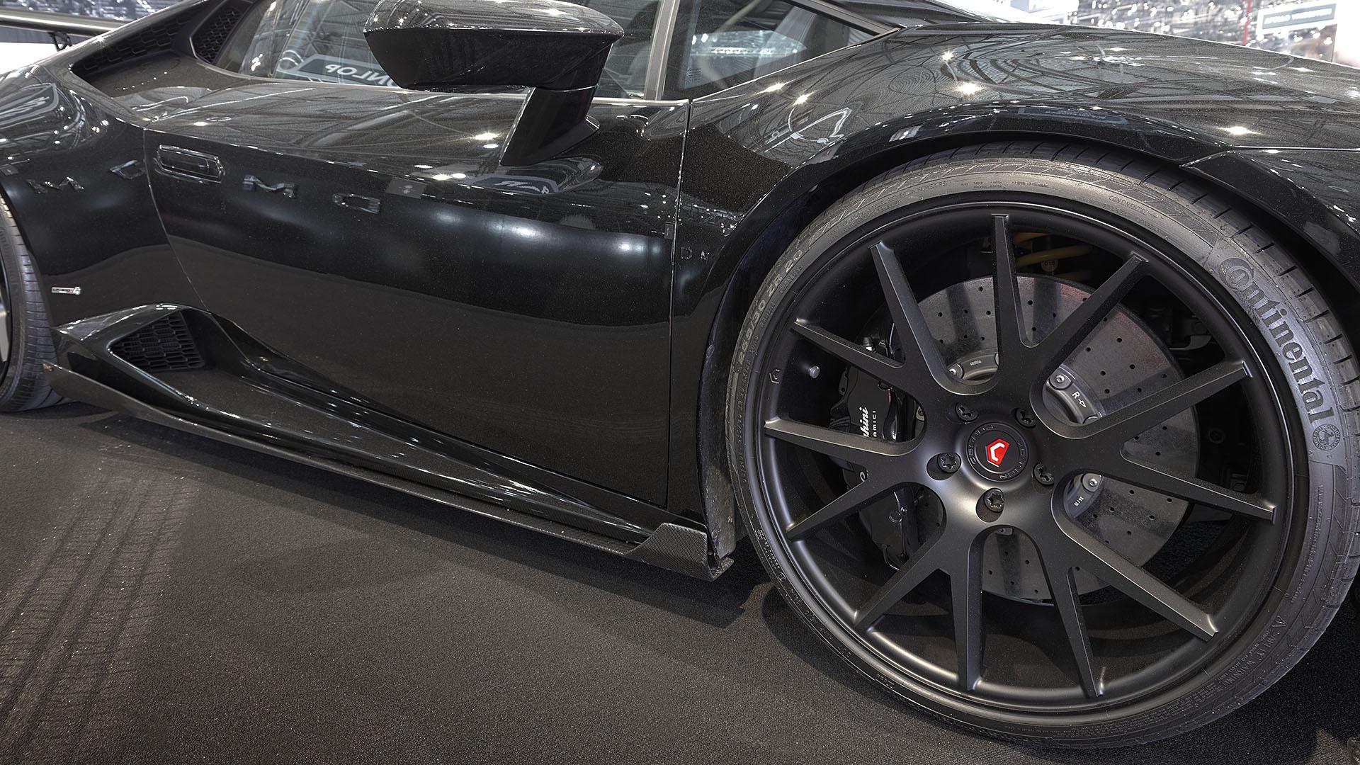 Carbon fiber side sill