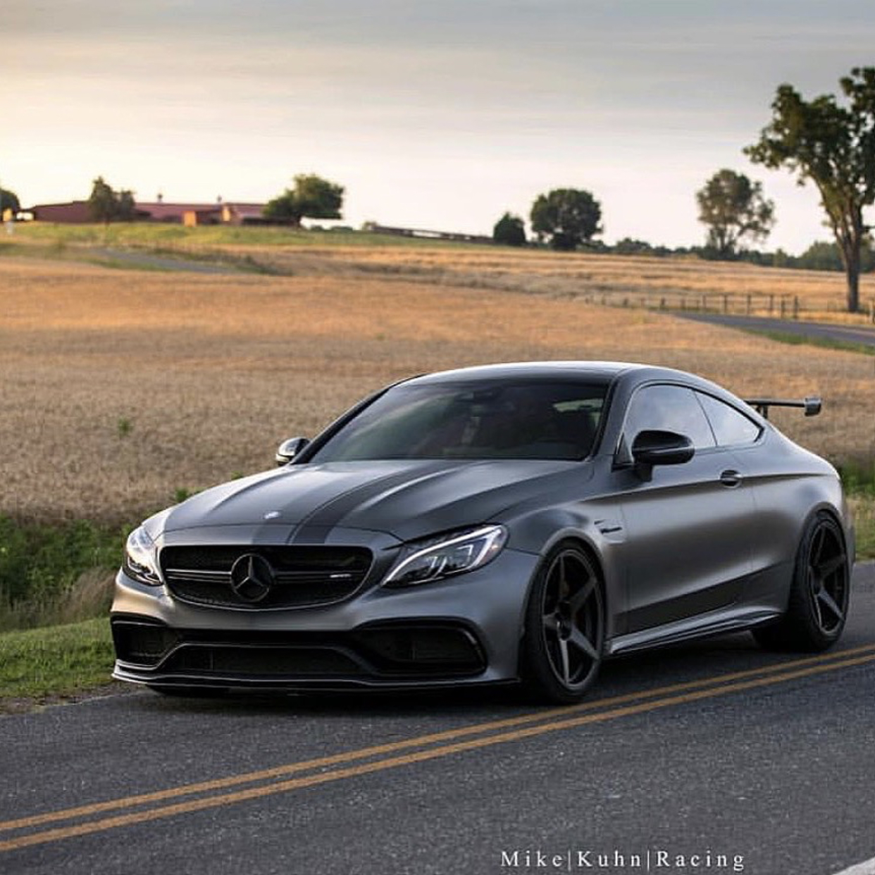 Mercedes Amg C63 C43 W205 Black Series Wing Carbon Fiber Dmc