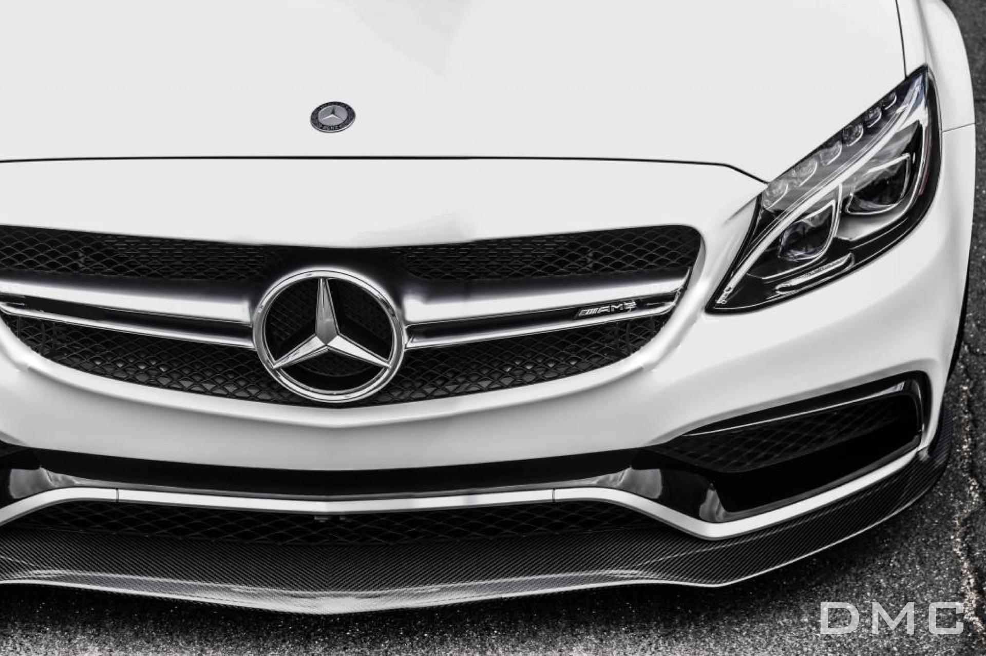 Mercedes Benz Coupe W205 Amg C63 2015 2020 Carbon Fiber Front Lip Dmc