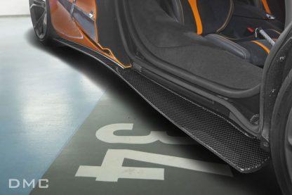 McLaren 720s Forged Carbon Fiber Side Skirts
