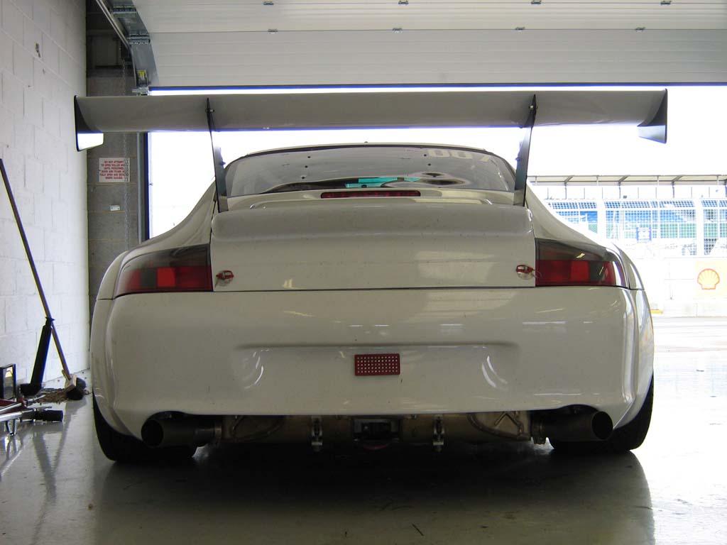 Porsche 996 Gt3 Cup Car Wing Spoiler Engine Cover Carbon Fiber Dmc