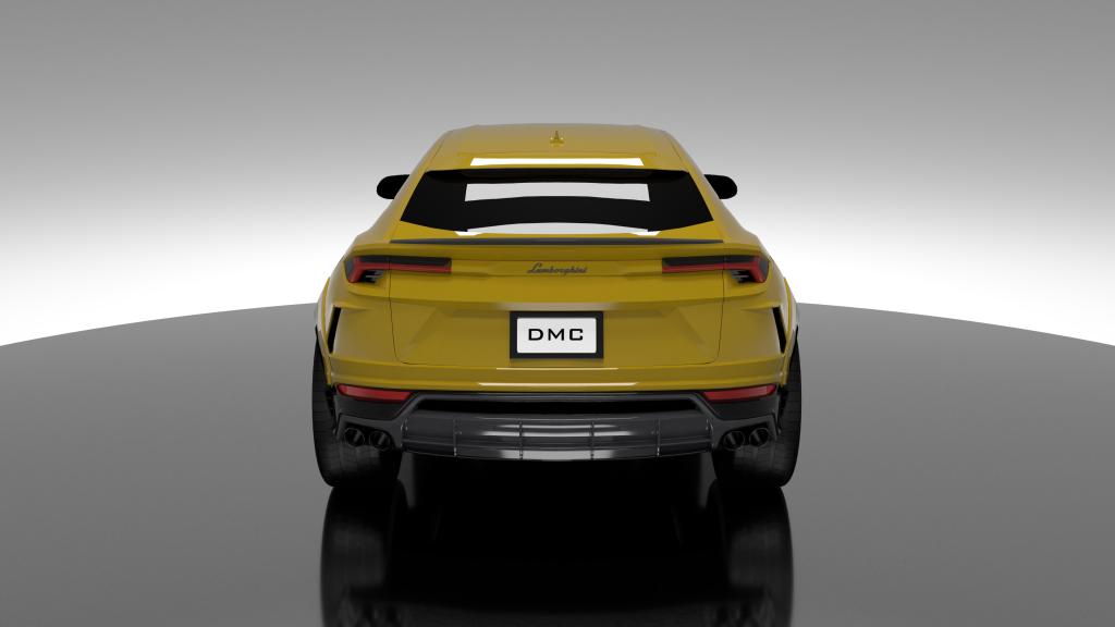 Wide Body Lamborghini Urus by DMC – DMC
