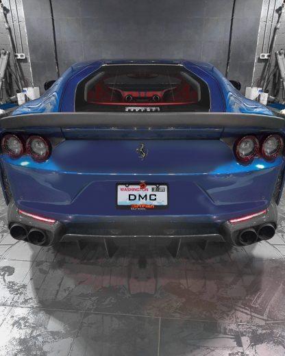 Ferrari 812 SF Superfast GTS Forged Carbon Fiber Rear Wing Duck Lip Spoiler
