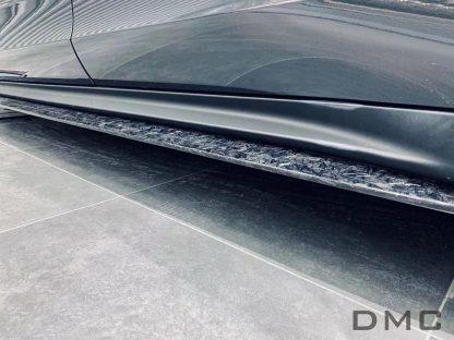 DMC Porsche Panamera 971 Forged Carbon Fiber Side Skirts