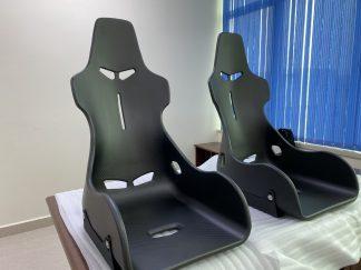 DMC McLaren Senna Seats Forged Carbon Fiber Race Chair Bucket Seats Front
