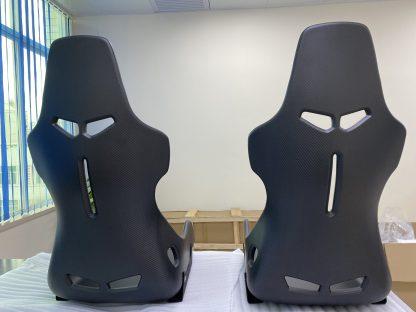 DMC McLaren Senna Seats Forged Carbon Fiber Race Chair Bucket Seats Back