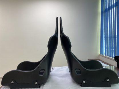 DMC McLaren Senna Seats Forged Carbon Fiber Race Chair Bucket Seats Side