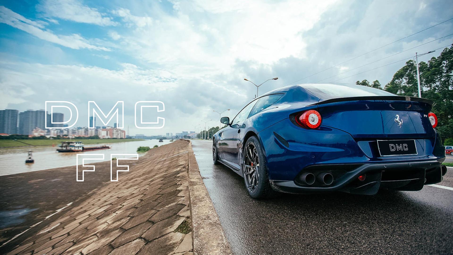 Ferrari Ff Carbon Fiber Duck Tail Wing Spoiler Dmc