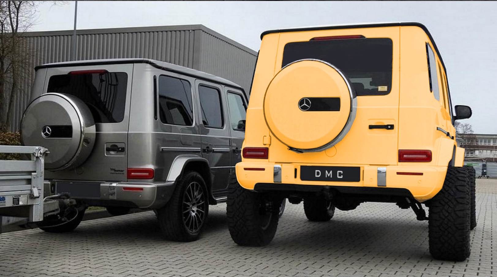 Mercedes Benz Amg W464 W463a Rhd 4 4 Lift Kit Bolt On Portal For G Class G500 G63 Dmc