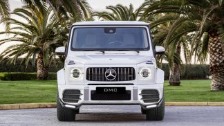W464 W463A DMC Forded Carbon Fiber Front Lip Spoiler Splitter for the 2021 G Class AMG G63 G Wagon