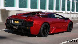 Lamborghini Murcielago Carbon Fiber GT3 Rear Bumper