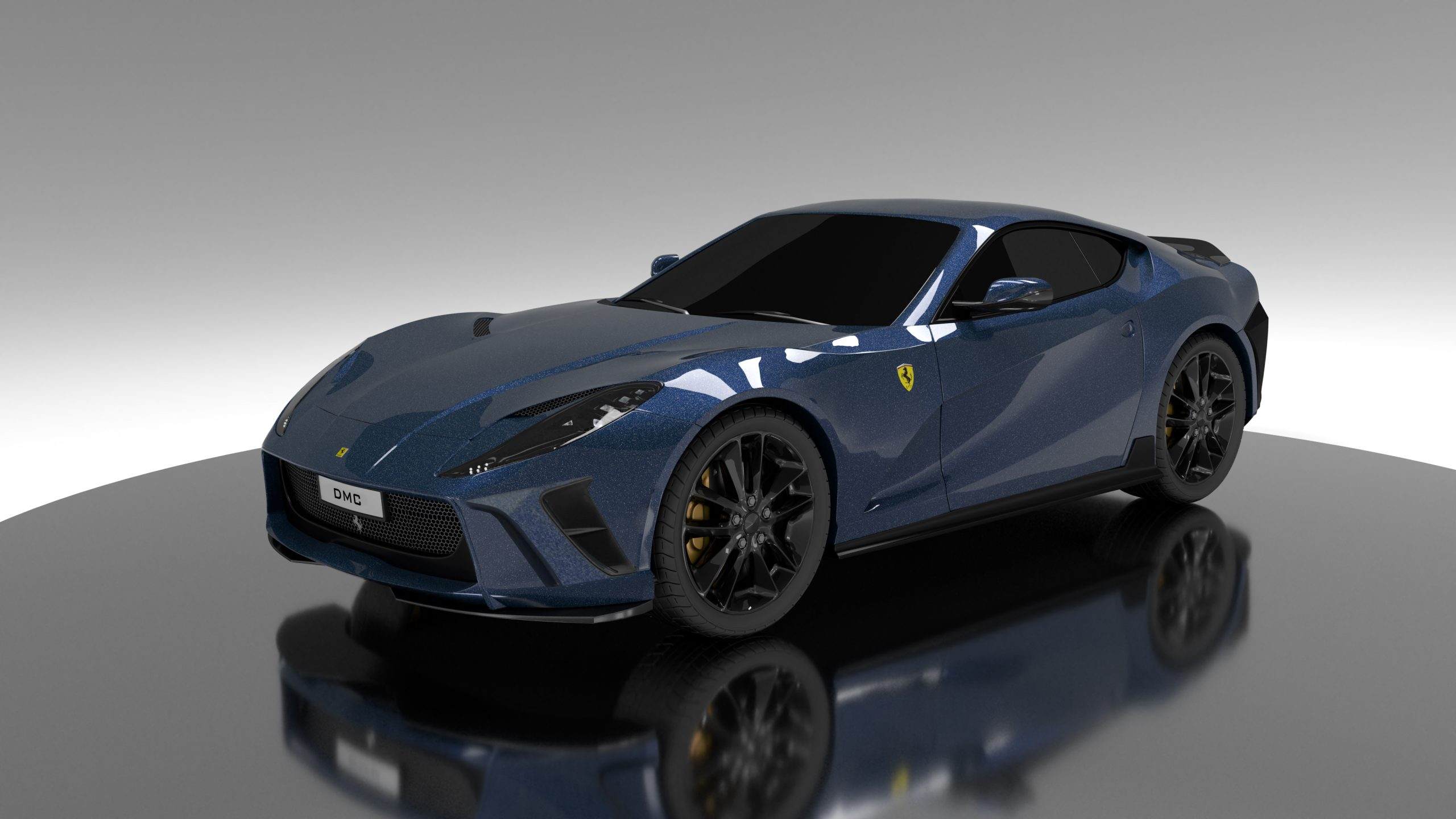 Ferrari 812 Superfast Carbon Fiber Body kit with Front Bumper