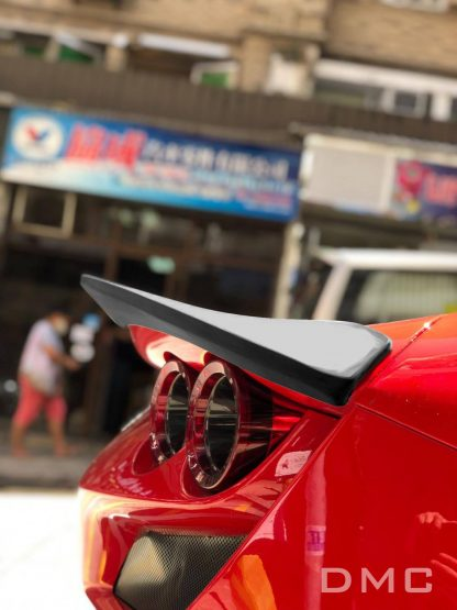 Ferrari F8 Tributo Forged Carbon Riber Rear Wing Trunk Spoiler Lip