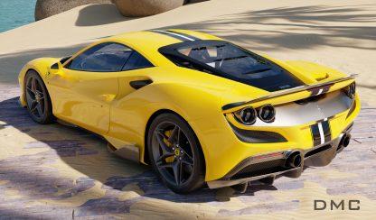 Ferrari F8 Tributo Carbon Fiber Wing Spoiler for the OEM Bumper 0006