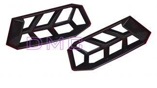 Lamborghini Aventador Rear Bumper Vents Cover Frames