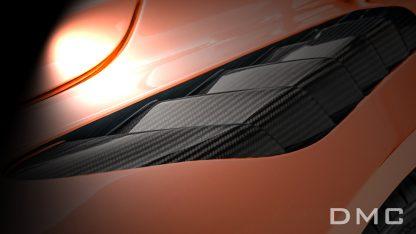 DMC McLaren 720s Forged Carbon Fiber Front Fenders Air Vented GT3