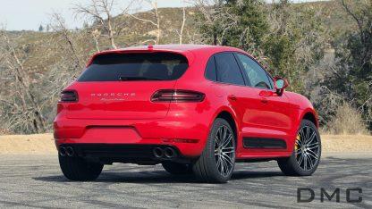 Porsche Macan Rear Diffuser Carbon Fiber