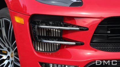Porsche Macan Forged Carbon Fiber Front Light Covers