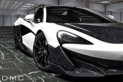 McLaren 600LT Forged Carbon Fiber Front Bumper & Flaps