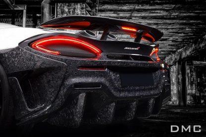 McLaren 600LT Forged Carbon Fiber Rear Bumper & Flaps