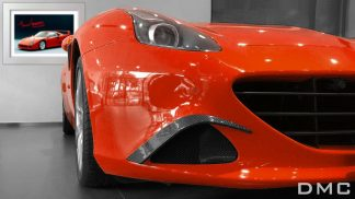 Ferrari California T Carbon Fiber Front Lip Splitters