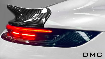 DMC Porsche 992 Forged Carbon Fiber Duck Wing Spoiler Retro 964 Style