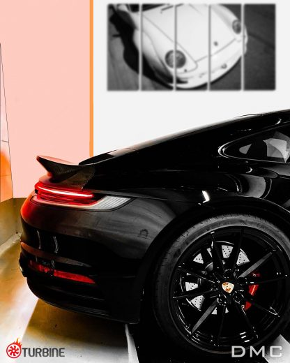 Porsche 992 Carrera S Carbon Fiber Duck WIng Retro Spoiler Lip
