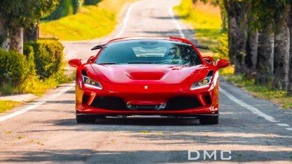 Ferrari F8 Tributo Gooseneck Forged Carbon Fiber Wing Spoiler