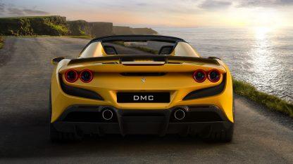 DMC Ferrari F8 Tributo Forged Carbon Fiber Rear Wing Spoiler Spyder Cabriolet