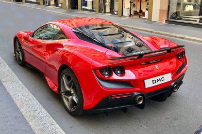 DMC Ferrari F8 Tributo Forged Carbon Fiber Rear Wing Spoiler Coupe