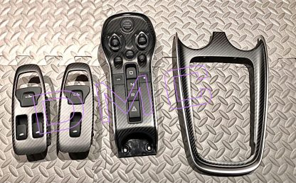McLaren GT Forged Carbon Fiber Interior Dashboard Center Console and Door Controls