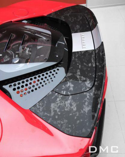 DMC Ferrari SF90 Forged Carbon Fiber Rear Deck Lid