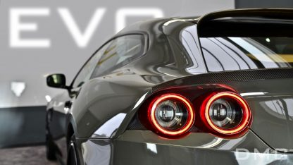 Ferrari GTC4 Lusso Forged Carbon Fiber Rear Wing Lip Spoiler for the OEM Trunk