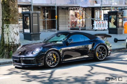 DMC Porsche 992 Turbo S Forged Carbon Fiber Rear Wing Replacement Spoiler for the Cabriolet