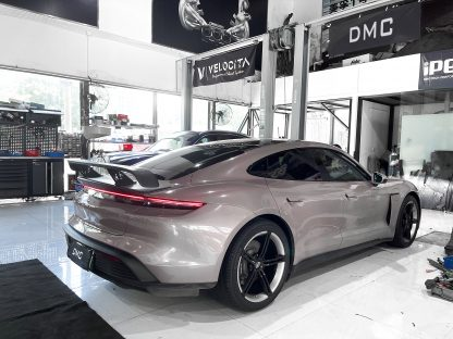 DMC Porsche Taycan Forged Carbon Fiber Duck Wing Spoiler