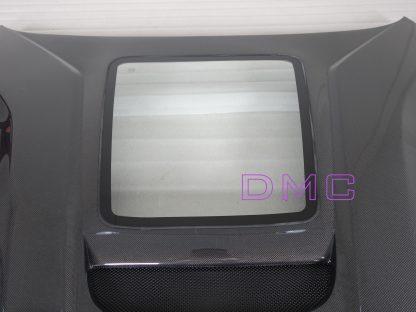 DMC Ferrari F12 Berlinetta TRS Front Hood OEM Replacement Bonnet Forged Carbon Fiber with Glass Window