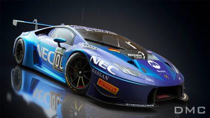 Lamborghini Huracan Squadra Corse Super Trofeo Wing Spoiler