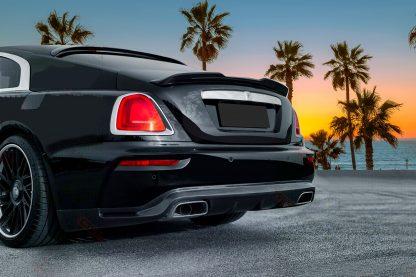Rolls Royce Wraith Black Badge Sport Package Rear Wing Trunk Lip Spoiler