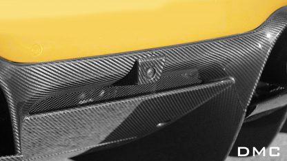 Ferrari F8 Tributo Forged Carbon Fiber Rear View Camera Cover