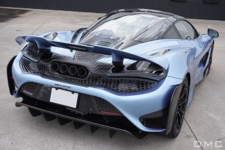 McLaren 765LT Rear Bumper Facelift for 720s with Wing & DIffuser made from Forged Carbon Fiber