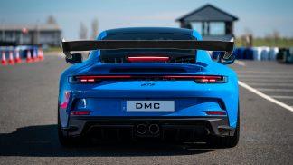 Porsche 911 992 RSR GT3 GT3RS Rear WIng Spoiler Replacment in Carbon Fiber